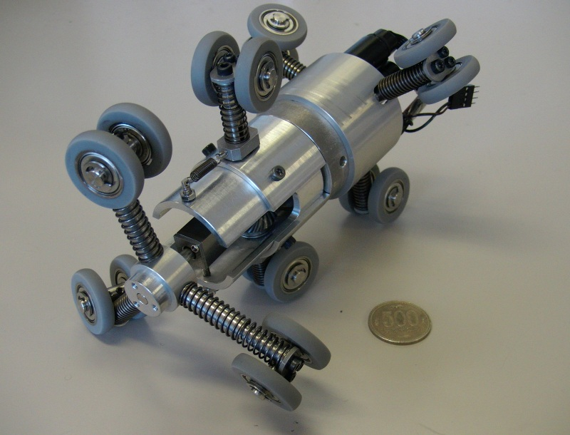 Drive Mechanisms For Robots Screw Drive In-pipe Robot With